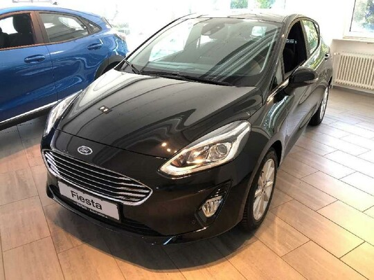 Ford Fiesta Titanium/KAMERA/ALU/PDC/WINTER-PAKET